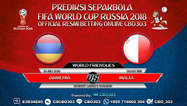 Prediksi Bola Armenia VS Malta 30 Mei 2018