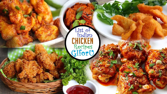list of indian chicken recipes-how to make indian chicken recipes-GIforU