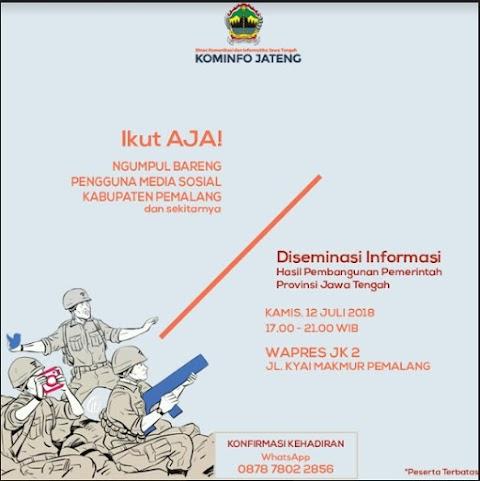 Ngumpul Bareng Pengguna Media Sosial Kabupaten Pemalang