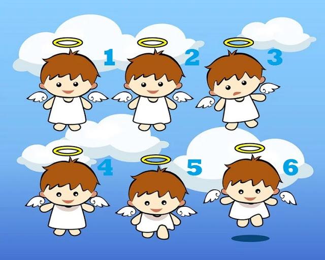 Выберите своего маленького ангела и получите его важное послание