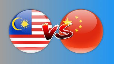 Live Streaming Malaysia vs China Kelayakan AFC B-23 26.3.2019