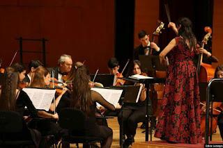 Orquesta del conservatorio de Barakaldo