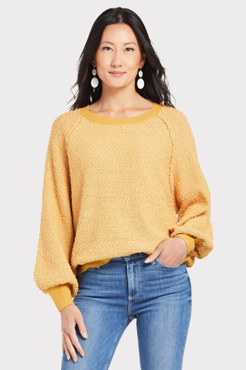 Allison Joy Nubby Pullover Sweater