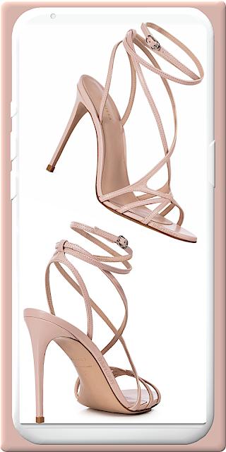 Le Silla Belen macaron pink leather sandal #lesilla #shoes #brilliantluxury
