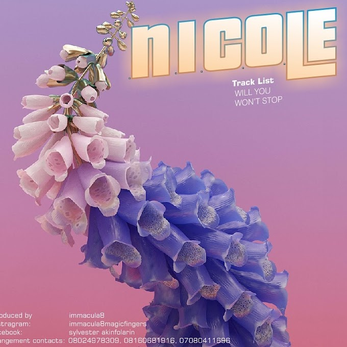[Music] NICOLE - WILL YOU