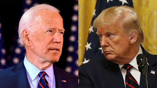 """Joe Biden llama a destituir a Trump y este responde tachándo el hecho de """"patético"""""""