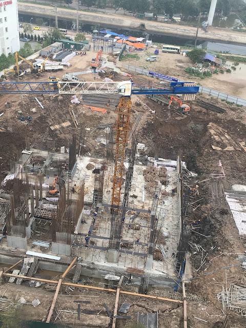 Tiến độ xây dựng Tứ Hiệp Plaza