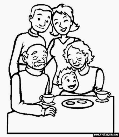 Family Reunion Coloring Pages To Print Coloring Pages