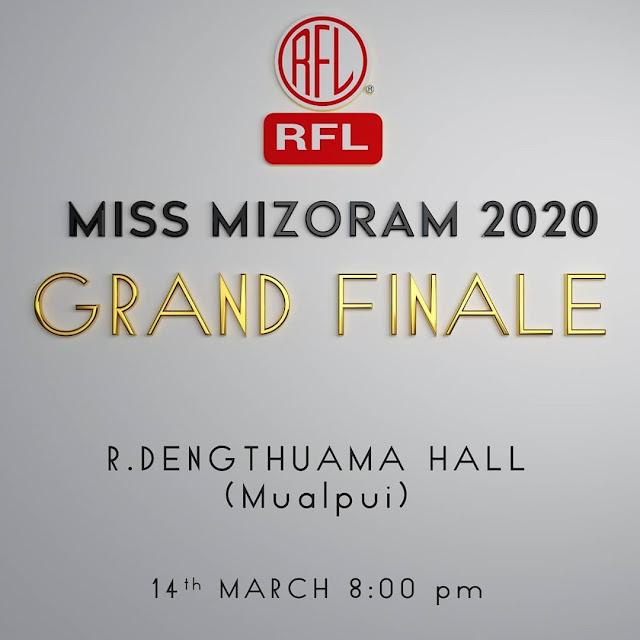Miss Mizoram winner