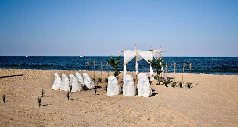 Ocean City Beach Wedding: Ocean City Beach Wedding Services: Ocean City Inlet