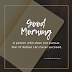 Good morning quotes | good  morning best thought {2019}