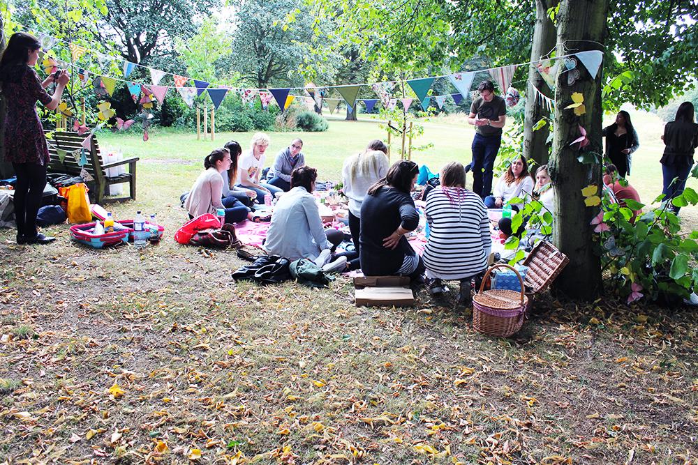 #BloggerPitP picnic park blogger event