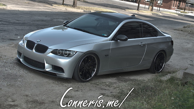 BMW 335i E92  HDR front angle