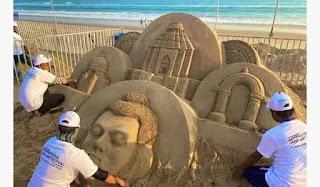 9th International Sand Art Festival and 31st Konark Festival