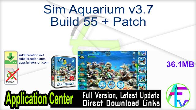 Sim Aquarium v3.7 Build 55 + Patch