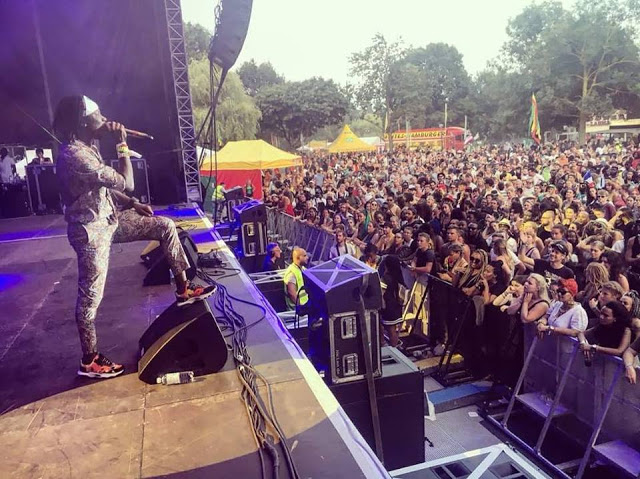 Photos: Stonebwoy Scores Bigger International Presence With Fiery Performance At Summer Jam In Germany