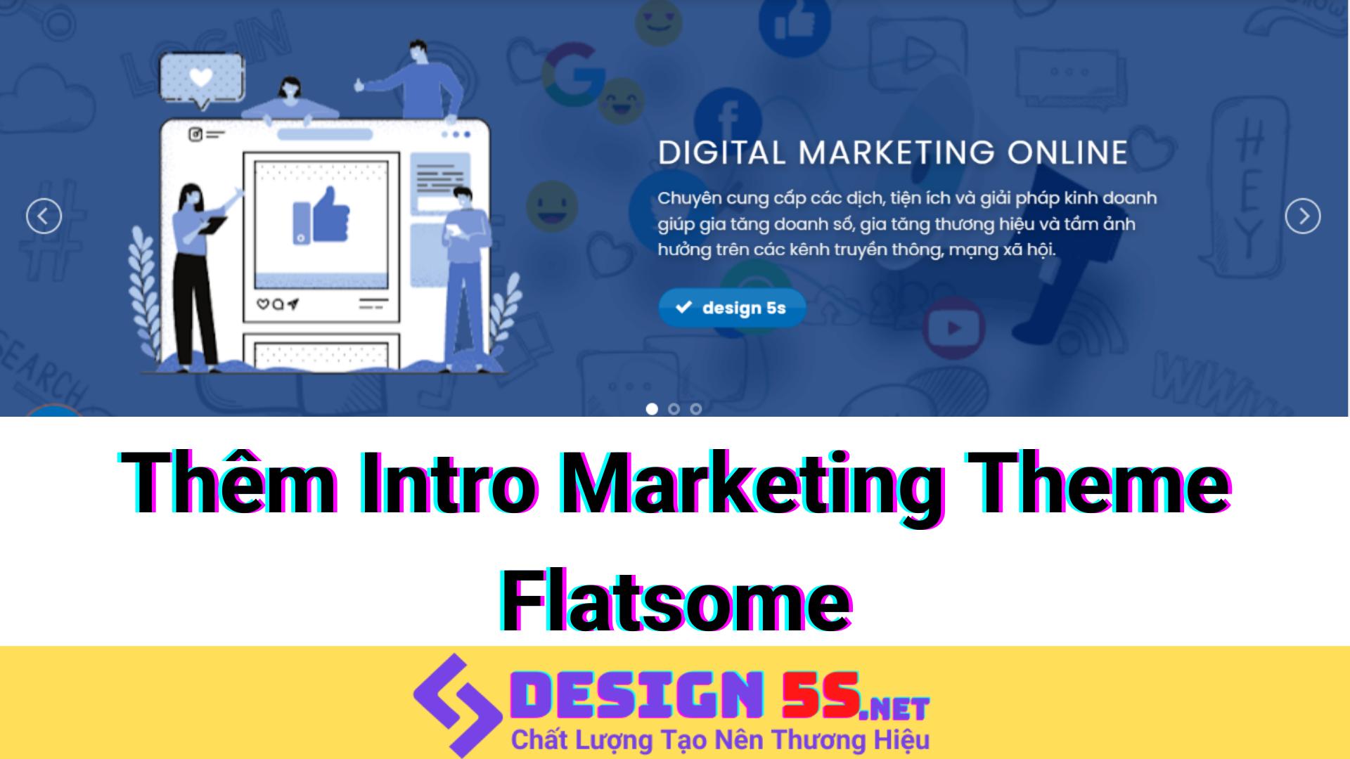 """Thêm intro marketing tuyệt đẹp cho blogspot """"theme flatsome"""" - Ảnh 2"""