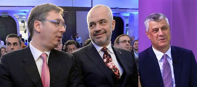 Haradinaj: Thaci, Rama and Vucic may have discussed the partition of Kosovo under Mogherini leadership
