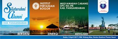 Musyawarah Pembentukan DPC HA IPB Kabupaten Pangandaran