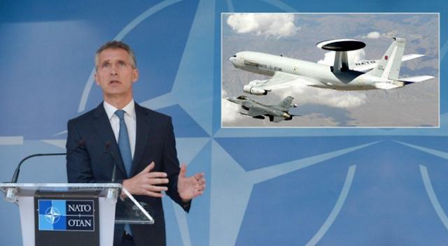 Pesawat pengintai AWACS NATO