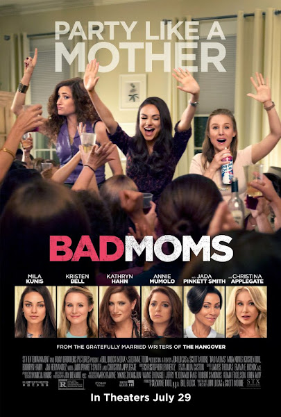 Bad Moms 2016 720p English BRRip Full Movie Download extramovies.in Bad Moms 2016