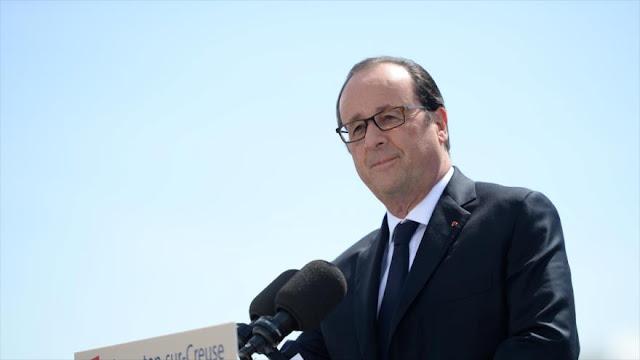 Hollande promete que el hackeo contra Macron no quedará impune