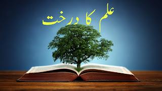 इल्म का दरख़्त interesting article in Hindi