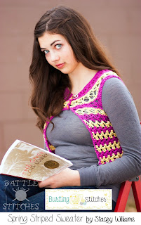 http://www.ravelry.com/patterns/library/spring-striped-sweater
