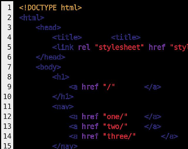 شرح وسم a فى لغة html
