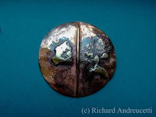 Irish artist, abstract Irish artist, metalwork artist,