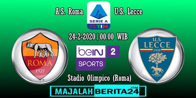 Prediksi AS Roma vs Lecce