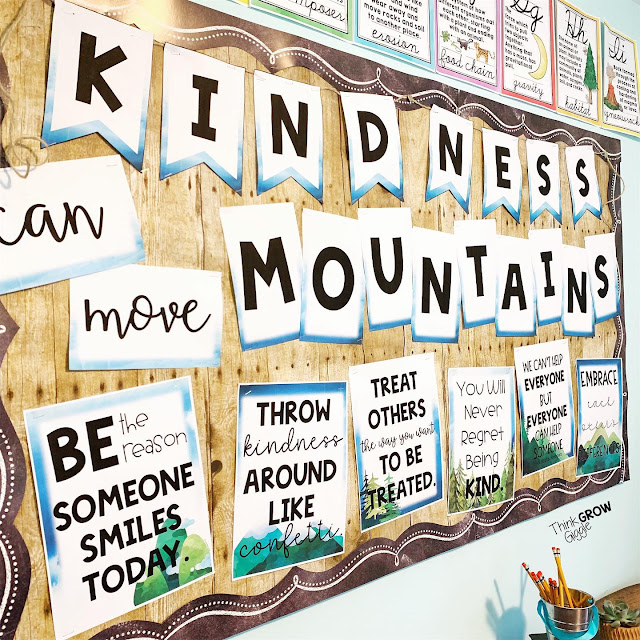 kindness bulletin board for the classroom
