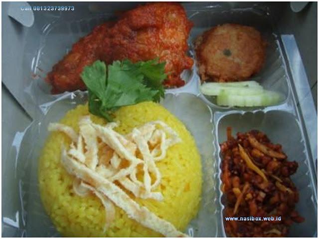 Nasi kotak nasi kuning ciwidey
