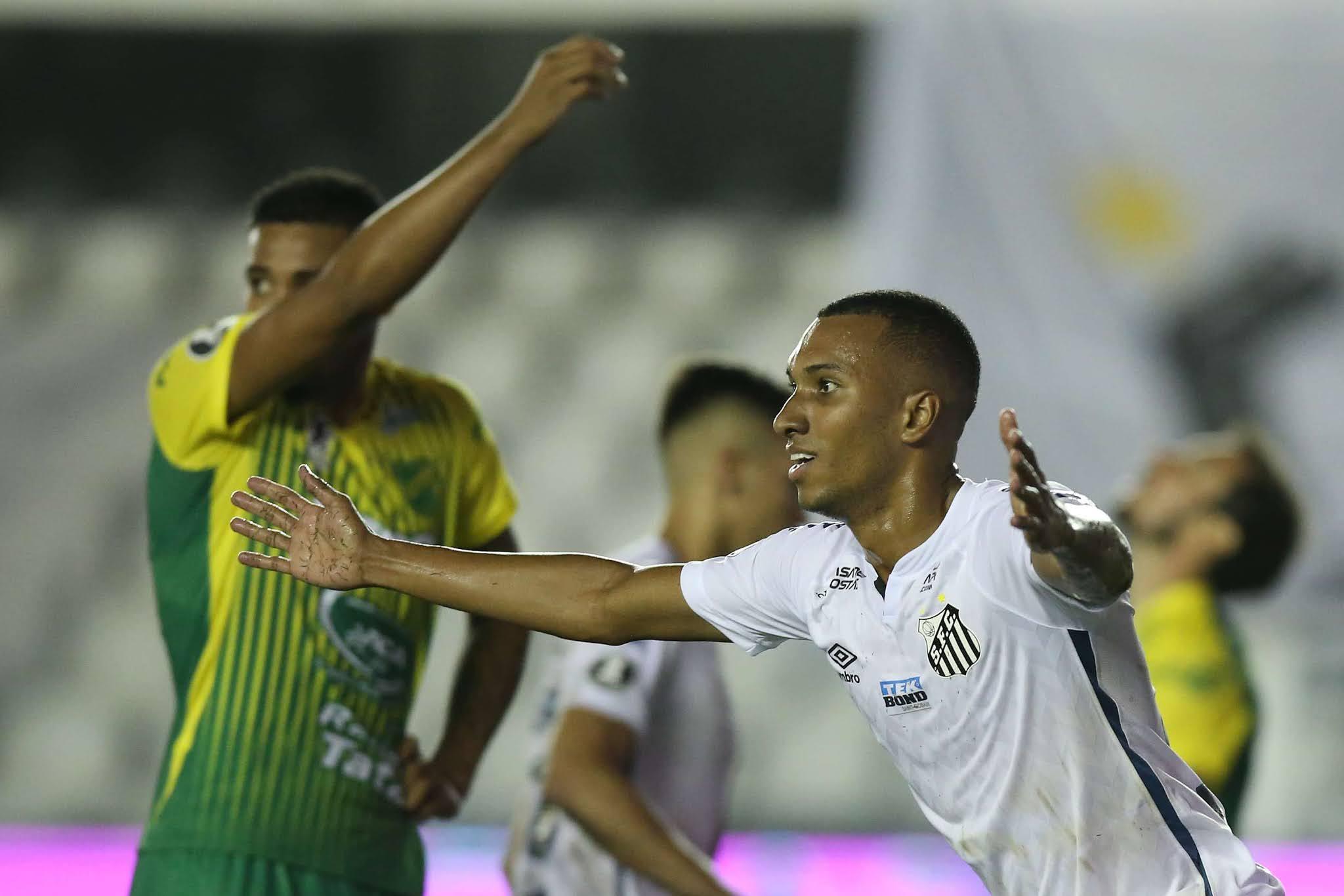 Santos Defensa y Justicia Copa Libertadores