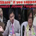 Senator Leila De Lima Gets Easily Irritated On Senator Manny Pacquiao's Reminder