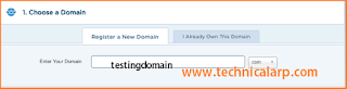 Start own WordPress blog with HostGator in 2020 - Choose Your Domain