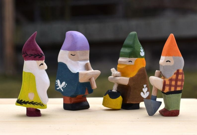 vulps toys wooden gnomes