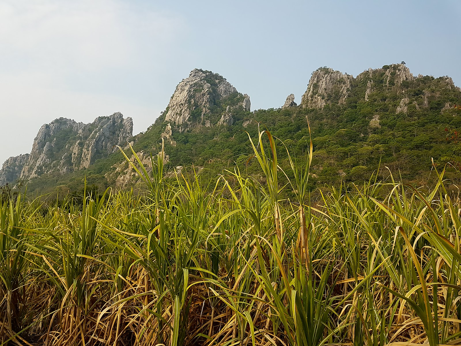 wapienne skały, Khao no khao kaeo,Tajlandia
