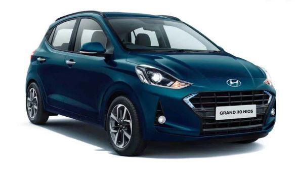 All new Hyundai Grand i10 Nios full view