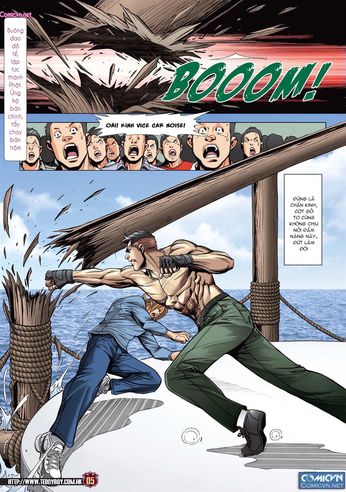 Người Trong Giang Hồ chapter 2137: tiền lộ nan hành trang 4