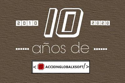 10º aniversario de AccionGlobalXSoft
