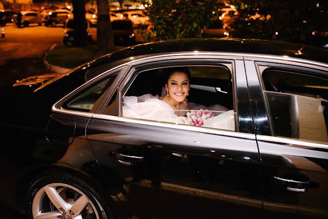 casamento real, rafaela e lucas, chegada da noiva, carro da noiva