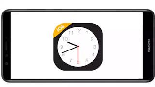 تنزيل برنامج iClock iOS pro mod Premium مدفوع مهكر بدون اعلانات بأخر اصدار من ميديا فاير