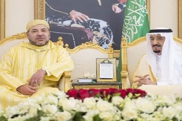 جلالة الملك يعزي خادم الحرمين الشريفين في وفاة الأمير خالد بن سعود