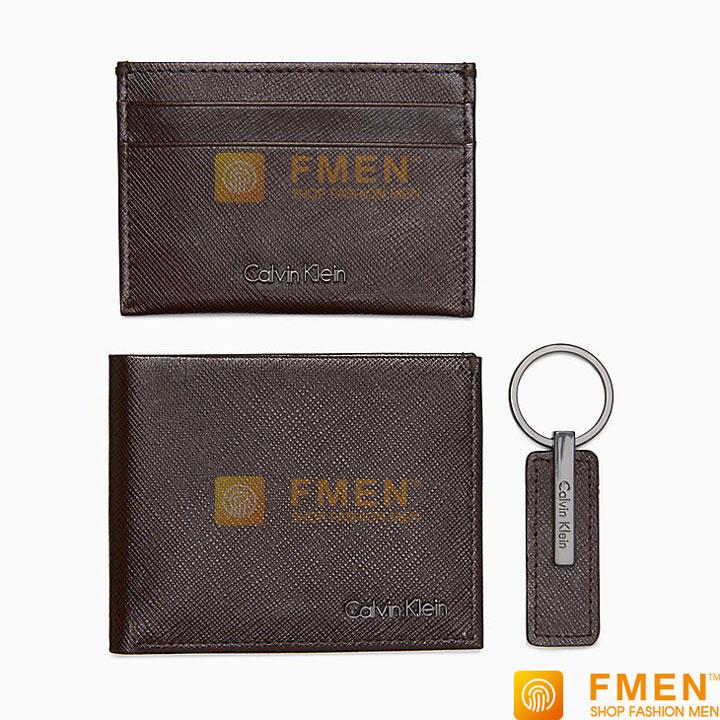 Mẫu ví tiền nam CK hàng hiệu chính hãng authentic VNCK-47207943