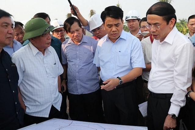 nguyen duc chung kiem tra du an thanh ha muong thanh - Chính sách hỗ trợ của chủ đầu tư dự án liền kề Thanh Hà