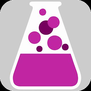 logo aplikasi game kimia little alchemy