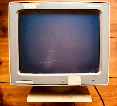PC-Monitor von 1987