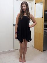 Barefoot Black Dress