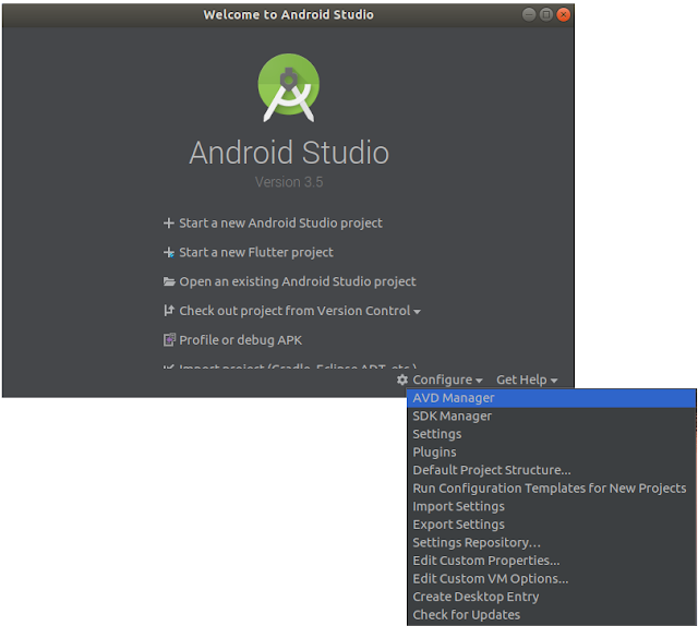 Android Studio - AVD Manager